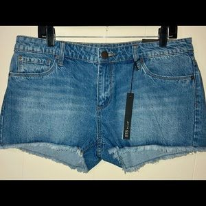 STS BLUE denim cutoff jean shorts